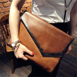 La borsa femminile del IPAD di grande capacità delle borse della frizione  delle borse della frizione della busta delle donne della borsa del cuoio del  ... 9632ef07f69