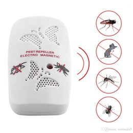 Mosquito assassino de mouse eletrônico ultra-sônico on-line-Assassino repelente eletrônico do repellent do rato ultra-sônico eletrônico doméstico do agregado familiar anti assassino do mosquito