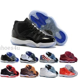 Wholesale High Canvas Boots - [With Box]New 2016 XI 11 Moon Landing Basketball Shoes Mens High Top Athletics Boots XI Sneakers Cheap Sports Shoes Mens Trainer
