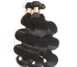 "Wholesale Processed Peruvian Hair - Liang Shuang Peruvian Hair Grade 8A Brazilian Body Wave Remy Hair 4pcs Set Body Wave Unprocessed Human Bundles (16""18""20""22"")"