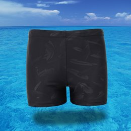Wholesale 4xl Mens Briefs - Professional Swimming Shorts Men Swim Trunk Boxer Shorts Swimsuits Mens Boxers Briefs Breathable Male Beach Board