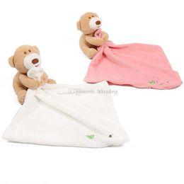 Bébé Dormir Appease Couverture Toddler Peluche Jouets de bande dessinée Ours Dolls Appease serviette 24 * 24 cm C4791 ? partir de fabricateur