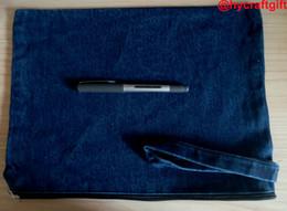 2019 DIY мужские синие джинсовые клатчи с ремешком мальчики девочки ремесло косметический макияж сумка Жан мыть хранения организаторы путешествия телефон чехлы случаи от