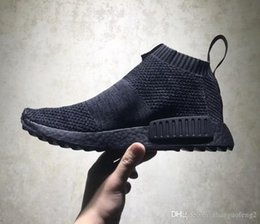 Wholesale Vintage Shoe Men - Hot Nmd City Sock Men Women Shoe,Men NMD CS1 City Sock PK Core Black Vintage Ftwr Casual Sports Shoes running shoes Footwear