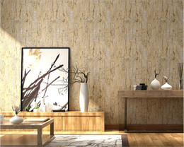 Wholesale Pink Store Clothes - beibehang Vintage retro imitation wood wall paper bedroom bar coffee shop personal clothing store papel de parede 3d wallpaper