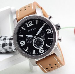 Wholesale Table Pin - DZ watch Man Luxury New Fashion Military Leather Quartz Watch Hot Brand Business Vintage Waterproof Watch Gift table clock Relogios Montre