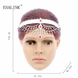 Wholesale Female Mannequin Plastic - Wholesale- Fashionable PVC Female Head Mannequin Plastic Lovely Women mannequin Head Model