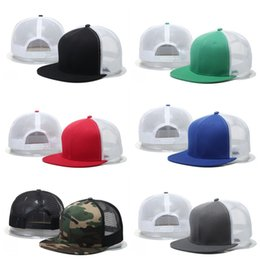 Wholesale Quality Blank Snapback Hats - For Men And Women Baseball Cap Soft Breathable Snapback Hat Simple Blank Mesh Casquette Hats Top Quality 12yp B
