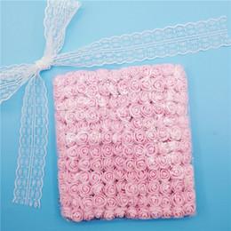 144 pcs 2 cm flores artificiales mini espuma rosa para el hogar decoración del coche de la boda diy pompom guirnalda decorativa flor nupcial flor falsa desde fabricantes