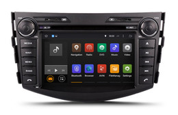 Wholesale Toyota Stereo For Rav4 - Android 7.1 Car DVD Player Radio for Toyota RAV4 2006-2012 with GPS Navigation Bluetooth USB SD AUX Audio Stereo WIFI