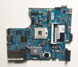 Wholesale Laptop Motherboard Hp Probook - For HP ProBook 4520S 4720S Laptop Motherboard 633552-001 48.4GK06.041 1Gb Graphics DDR3 Socket 989 Intel HM57 Notebook Systemboard