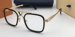 Placa de alta definición online-El diseñador de moda más popular que vende gafas ópticas 0947 lente de alta calidad con marco de placa cuadrada y caja original