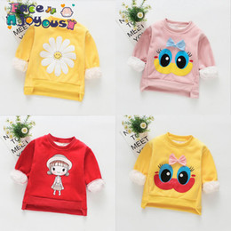 b91bdcf37e1a1 tenue d hiver petite fille Promotion Nouvel Automne Hiver Bébé Filles  T-shirt Plus