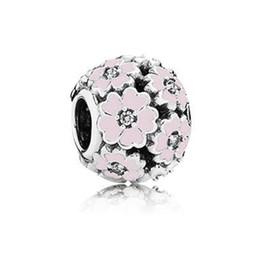 WinTion PAN 100% S925 argento nuovo braccialetto perline, fascino originale moda tendenza rosa ciliegia erba perline regalo femminile da
