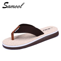 Wholesale Cheap Wholesale Canvas Shoes - Luxury Brand Men's Flip Flops Slippers Summer Fashion Beach Sandals Shoes For Men Casual shoes men zapatos hombre cheap 1D1