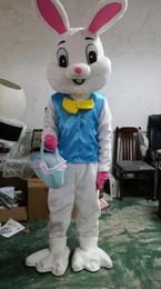 costumes de lapin de pâques Promotion nouveau costume d'halloween costume de mascotte lapin de Pâques bugs lapin lièvre adulte costume fantaisie costume de dessin animé robe de fantaisie