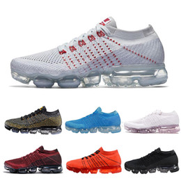 Wholesale brown flats size 11 - 2018 Vapormax 2 Plus Rainbow Men Women Shock Acronym Running Shoes Fashion Vapor 2.0 Chaussures Mens Trainers Sports Sneakers Size 5-11