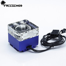 Счетчик онлайн-FREEZE MOD Computer water-cooled mute pump with a 6 meter flow 960L/H support RGB AURA PU-GCDCA1