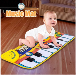 Wholesale Gym Baby Pad - infant kids baby children detachable washable touch play keyboard musical music singing crawl gym carpet mat pads cushion rugs