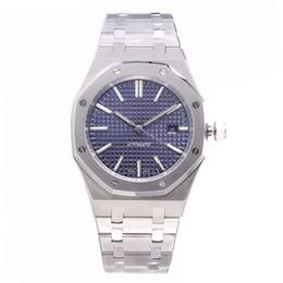 uhren luxus-stil Rabatt aaa luxury herren automatische mechanische uhren klassischen stil 42mm voll edelstahlarmband hochwertig armbanduhren saphir 15400ST