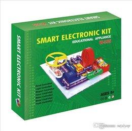Wholesale Circuit Toy - STEM toy W335 developmental toys Teacher Wang,plastic Electronic Block Kit, snap circuit electronic discovery blocks, STEM Educational toys