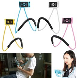 Wholesale green blue bedding - Lazy Bracket Universal 360 Degree Rotation Flexible Phone Selfie Holder Snake-like Neck Bed Mount Anti-skid For iPhone Android
