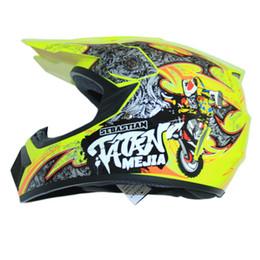 Wholesale child motorcycle helmet - FREE SHIPPING motorcycle Adult child motocross Off Road Helmet ATV Dirt bike Downhill racing helmet cross capacetes