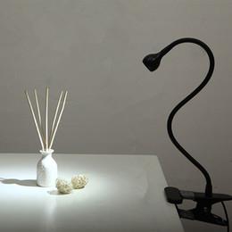 2019 klemmen für lichter LED-Schreibtischlampe mit Clip 1W Flexible LED-Leselampe USB-Netzteil LED-Buchtablettlampe Warmweiß / Weißes Klemmlicht günstig klemmen für lichter