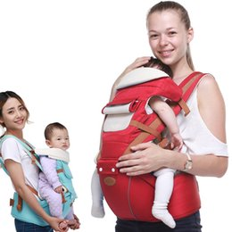 Wholesale backpack carry baby - Baby Multifunction Carrier Child Wrap Season-adjustable Kid Sling Kangaroo Baby Caring Toddler Backpack