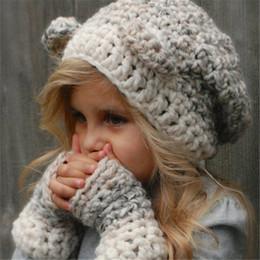 Guanti in lana per bambini con cappuccio e sciarpa Guanti in lana per  bambini con cappuccio in lana 3 in 1 guanti di cappelli invernali delle  ragazze ... 231b97fa8975