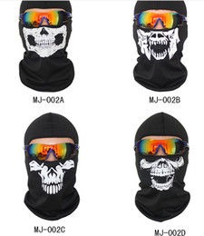 Wholesale Tactical Ghost Mask - 2018 hot pin mounted face mask wild ghost skull and skull bicycle outdoor sunscreen and breathable multi-functional tactical protection