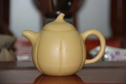 Wholesale yixing teapot clay - The Real yixing teapot purple clay teapot Famous artists manual Undressed ore mud high pepino pot about 220 ml