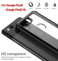 Wholesale Brand Selection - New Arrival for Google Pixel 2XL Multi-color selection TPU Soft Frame HD transparent Back Cover for Google Pixel2