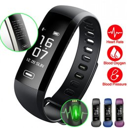 Wholesale oximeter ratings - Original M2 Smart wrist Band R5 PRO Heart rate Blood Pressure Oxygen Oximeter Sport Bracelet Watch intelligent For iOS Android