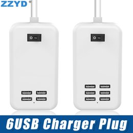 Caricatori usb 4a online-ZZYD USB Charger Plug US EU Plug 5V 4A Power Adapter per iPhone Samsung con pacchetto Retail