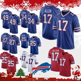 17 Josh Allen Buffalo 49 Bills Tremaine Edmunds 27 Davious White 12 Jim  Kelly 95 Kyle Williams 25 LeSean McCoy 34 Thurman Thomas 23 Hyde 3ec87c89c