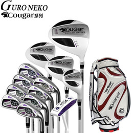 Wholesale golf clubs full sets - Golf brand Cougar. Ladies women golf irons clubs complete sets Women clubs full set half mini