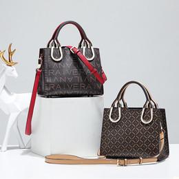 Women Bag Pu Leather Tote Brand Name Bag Ladies Handbag Lady Evening Bags  Female Messenger Bags Travel Fashion L7086-1 17c145355db8c