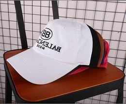 Wholesale Paris Cap - 2018 new fashion Paris Vetements BNIB BB baseball cap snapback hats and caps brand sports hip hop flat sun hat mens Casquette