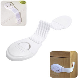 Wholesale cabinet solid - Multifunctional Child Safety Door Cabinet Drawer Ribbon Refrigerator Lock Baby Infant Cloth Wardrobe Lock Safety Protect