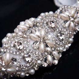 Düğün Için sıcak Satış Pretty Sashes Kristal Rhinestone Boncuklu Kemer Gelin Sashes Akşam Balo Elbiseler Gelin Aksesuarları Için Uygun nereden