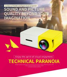 Canada Projecteur portatif à LED YG300 de vente en usine 400-600LM 3.5mm Audio 320 x 240 pixels YG-300 HDMI USB Mini Projecteur Home Media Player Offre