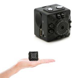 mini-nuit surveillance de vision caméscope Promotion Mini caméra portable HD 1080 P Sports DV Enregistreur vidéo Vision nocturne Caméscope Détection de mouvement Détection de sécurité Caméra pour Home Office