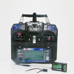 Приемник для вертолета rc онлайн-Aerops FS-i6 FS I6 2.4G 6ch RC Transmitter Controller iA6 or iA6B or iA10B Receiver For RC Helicopter Quadcopter drone