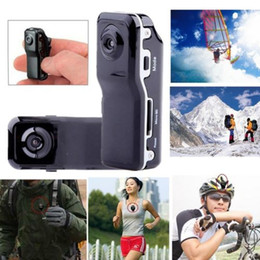 Wholesale Camera For Helmets - 2 Million Camera Mini DV Helmet Secret Camcorder MD80 Video Audio Recorder DVR for Car Sport Action Bike Micro Cam with Holders