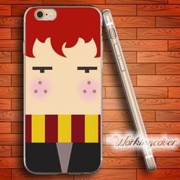 Coque TPU Clear Harry Potter de Cartoon pour iPhone X 8 6 6S 7 Plus 5S SE 5 Coque 5C 4S 4 pour iPod Touch 6 5 Couverture. ? partir de fabricateur
