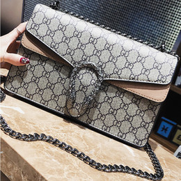 crossbody wallets Promo Codes - Fashion Women Shoulder Bag Chain Messenger Bag High Quality Handbags Wallet Purse Designer Cosmetic Bags Crossbody Bags Tote