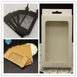 2019 kraft telefonzelle Universal phone case abdeckung paket box plain kraft brown papier verpackungsboxen für iphone 6 6 s 7 plus se 5 s 4 s samsung s6 s7 rand s5 hinweis 4 5