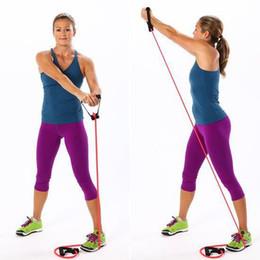Canada Pull Rope Elastique Corde Crossfit Set Équipement d'Entraînement Multifonctionnel Rubber Band Ceinture Gym Equipement Extracteur De Latex WS-36 Offre
