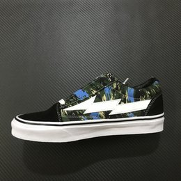 1185040d3388 WHOLESALE 2018 REVENGE X STORM LOW TOP BLUE GREEN ORANGE GREEN CAMO  RXSTRMLTVLC-BLUGRNCMO GD121 INS CANVAS CASUAL RUNNING SKATEBOARD SHOES